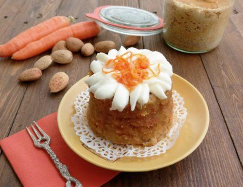 Torta alle carote espressa
