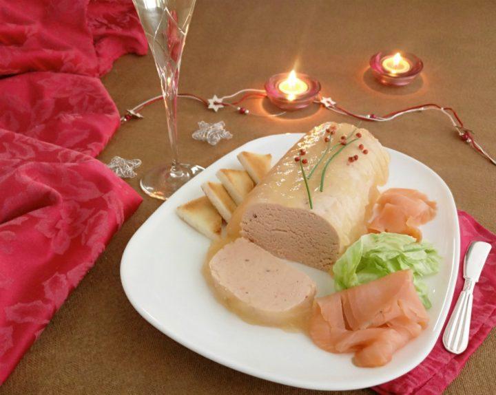 Paè di salmone in gelatina O