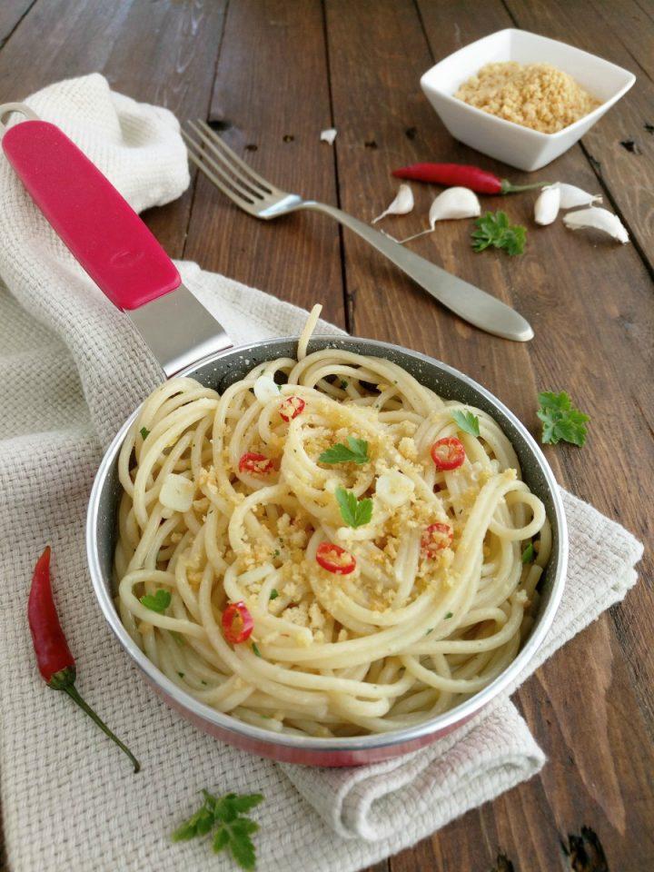 spaghetti aglio olio e peperoncino V