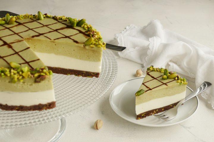 cheesecake al pistacchio EV