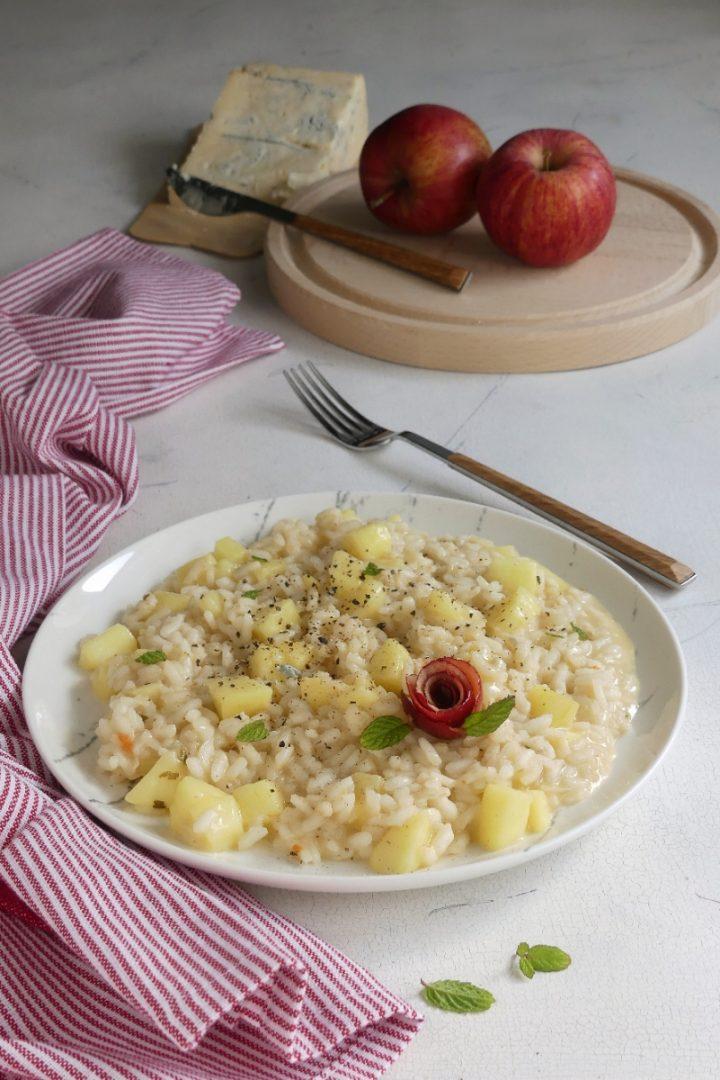 risotto con mele e gorgonzola V/20