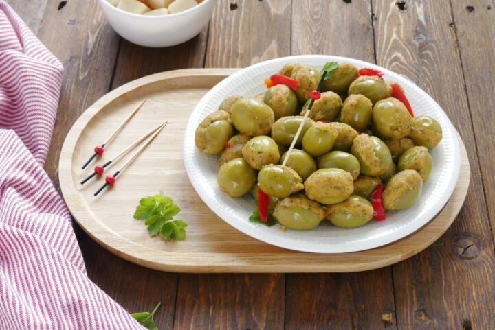 Olive ripiene alla messinese O/'21