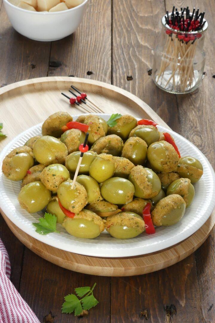 Olive ripiene alla messinese V/'21