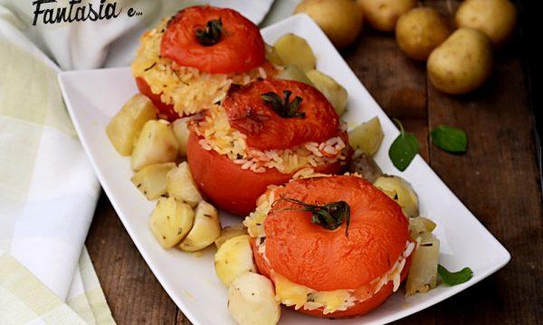 Pomodori di Riso e patate al forno