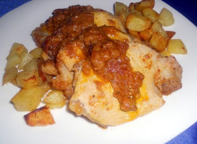 Arrosto di maiale con patate for Arrosto maiale
