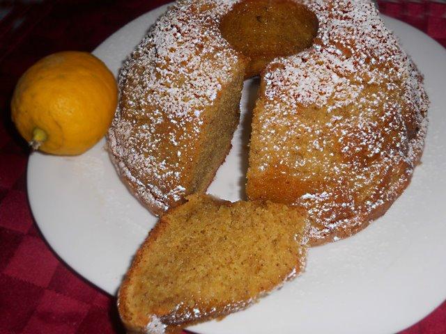 Torta Caprese al Limone di Salvatore De Riso (versione alta)