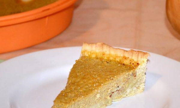 Crostata alla Crema di Zucca, ricetta dolce