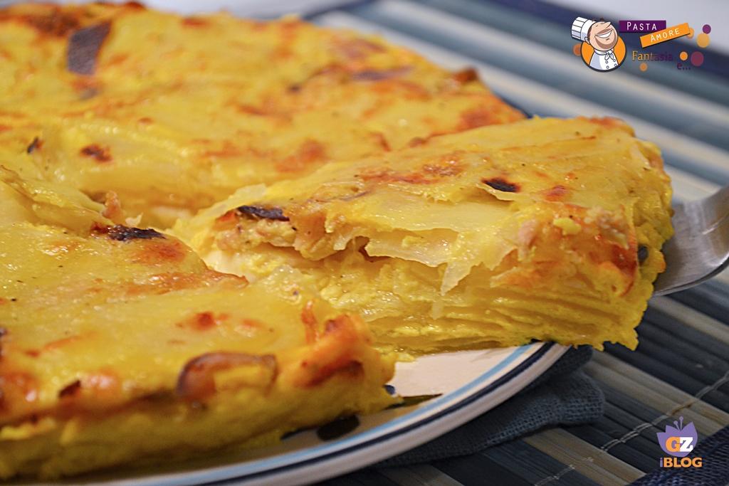 Ricetta Tortillas Patate E Cipolla.Frittata Di Patate Cipolla E Tonno Secondo Piatto