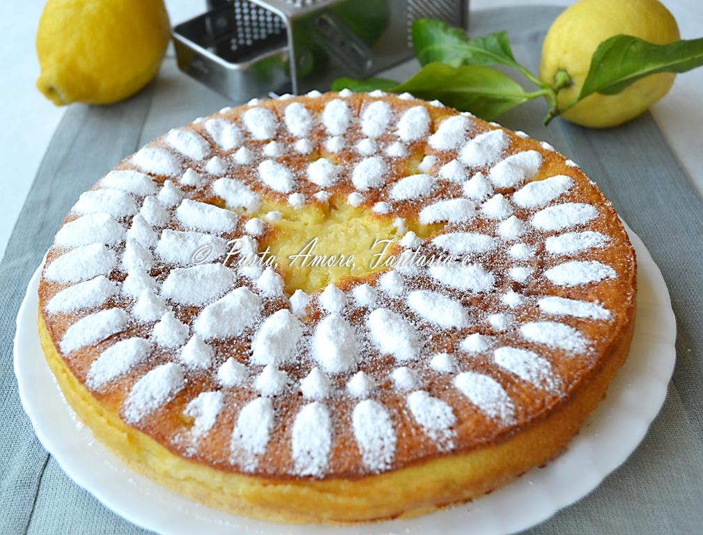 Torta al limone   ricetta dolce