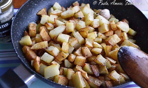 Patate in padella, ricetta contorno