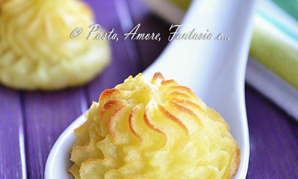 Patate Duchessa, ricetta contorno