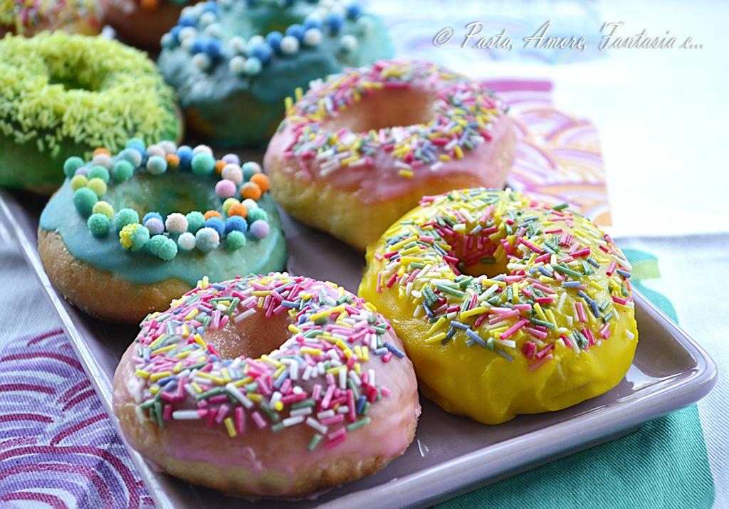 Ricetta Dei Donuts Al Forno.Donuts Al Forno Ricetta Dolce