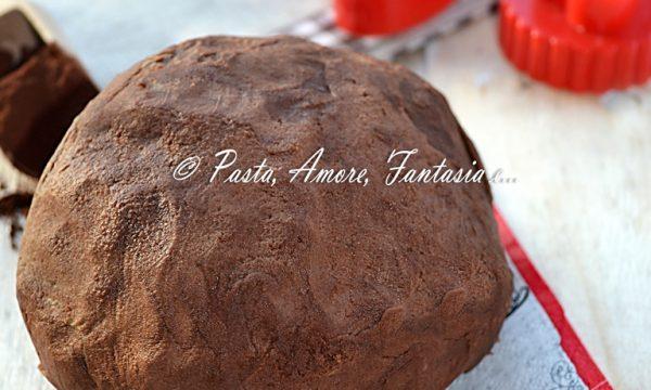 Pasta Frolla al Cacao con Tuorli Sodi, ricetta base