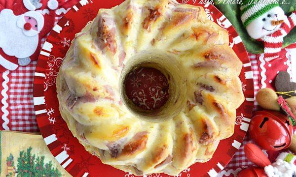 Babà rustico, torta salata