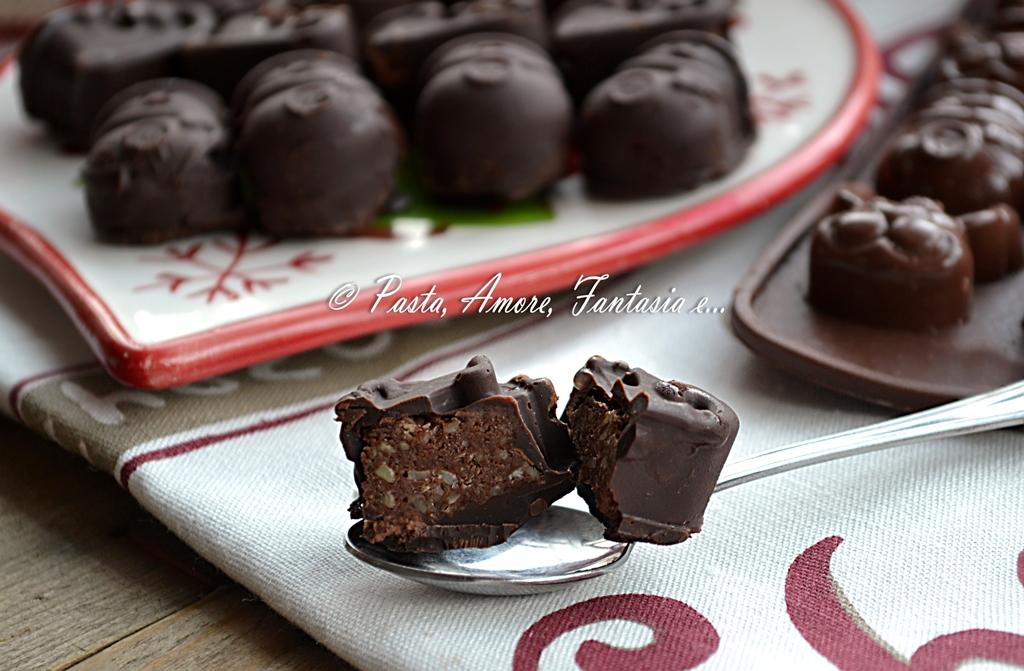 Cioccolatini Natalizi, ricetta dolce
