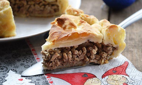 Tourtiere (French Canadian Meat Pie), torta salata