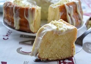 Chiffon Cake Fluffosa marmorizzata con ganache al