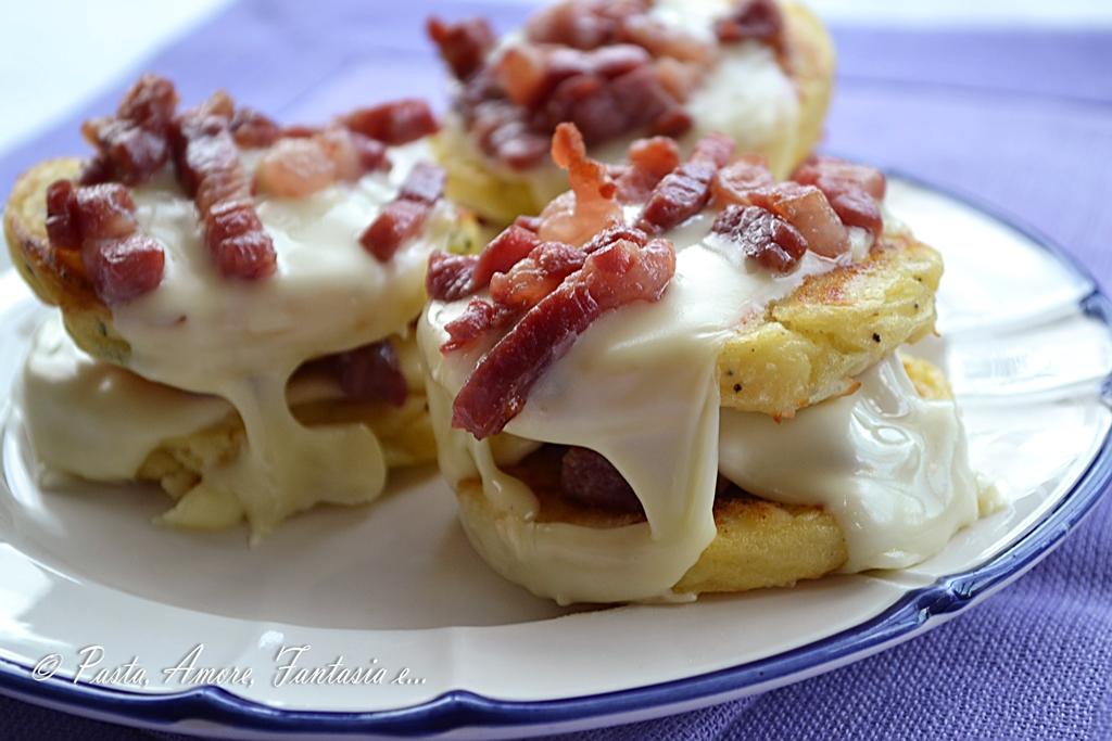 Burger di patate secondo piatto for Primi piatti particolari