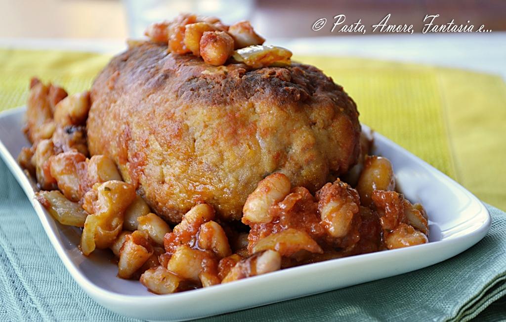 Hamim polpettone con fagioli alla toscana ricetta toscana for Ricette toscane