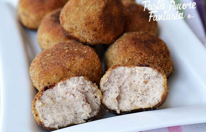 Polpette di Carne e Patate, secondo piatto