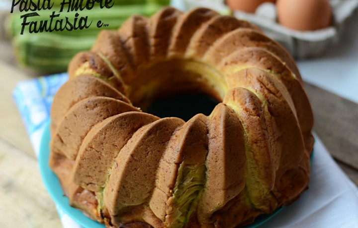 Ciambella 7 vasetti con Zucchine e Fiori di Zucca, torta salata