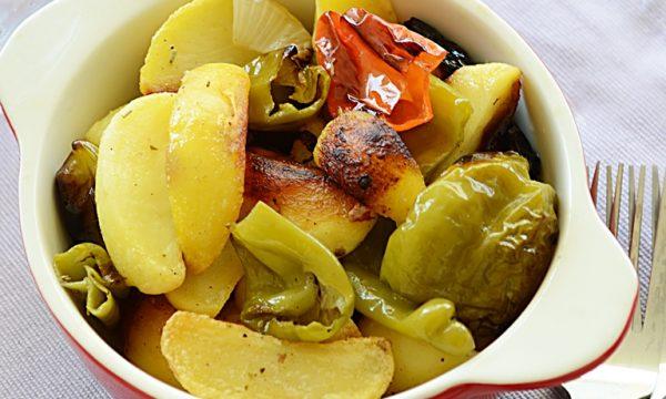 Patate e friggitelli, ricetta contorno