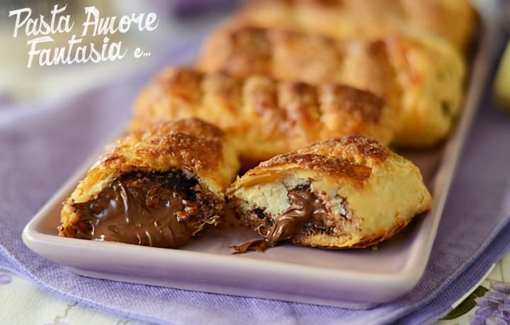 Sfogliatine dolci di Pane e Sfoglia, ricetta dolce passo passo