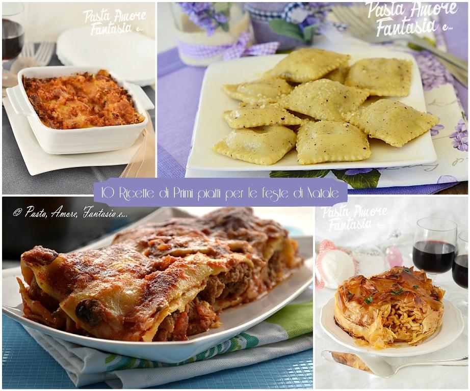 10 ricette di primi piatti per le feste di natale for Ricette per primi piatti