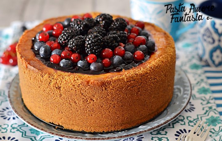 New York Cheesecake con Frutti di Bosco