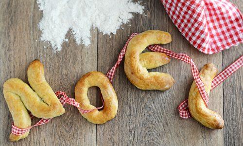 Lettere Segnaposto in Pasta di Pane
