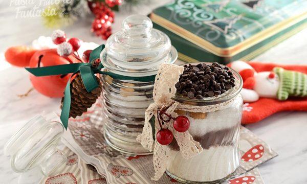 Preparato in Barattolo per Brownies alle Nocciole