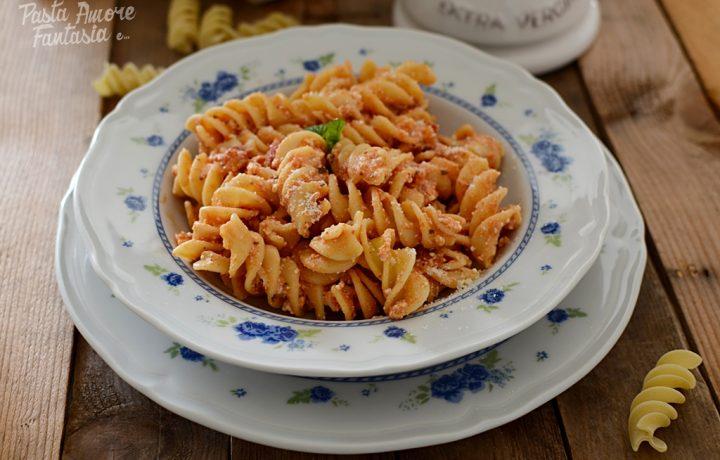 Pasta con Pomodoro e Ricotta