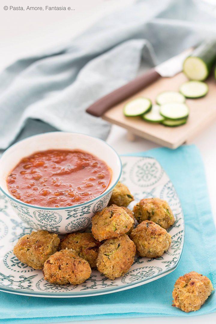 Crocchette di Zucchine e Parmigiano
