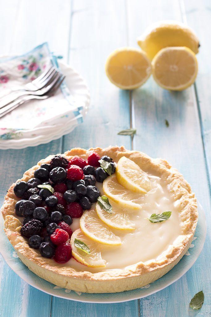 Crostata al Limone e Frutti di Bosco