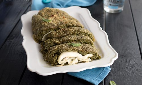 Polpettone di Salsiccia e Broccoletti al forno
