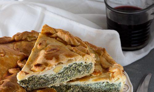 Torta Pasqualina ricotta e spinaci
