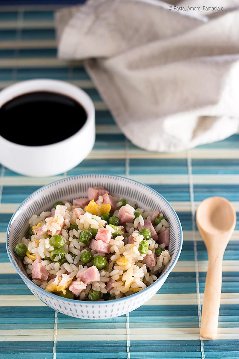 ricetta riso cantonese