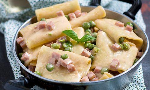 Pasta Piselli e Prosciutto Cotto