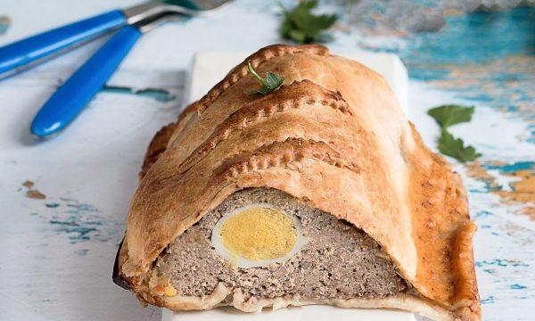 Polpettone in Crosta di Pasta Sfoglia