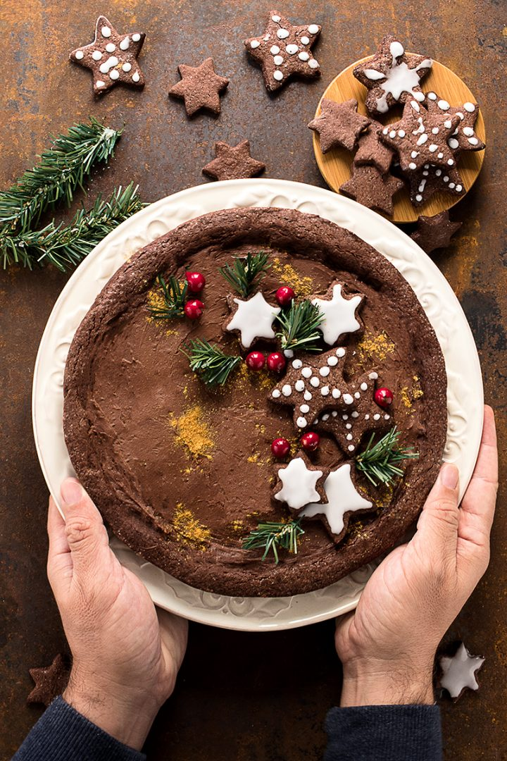 Crostata con Crema al Cioccolato