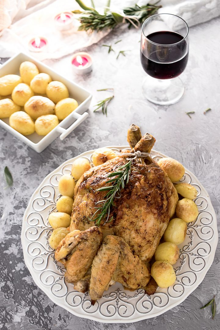 Pollo al Forno ripieno
