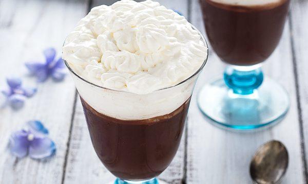 Coppa al Cioccolato e Panna