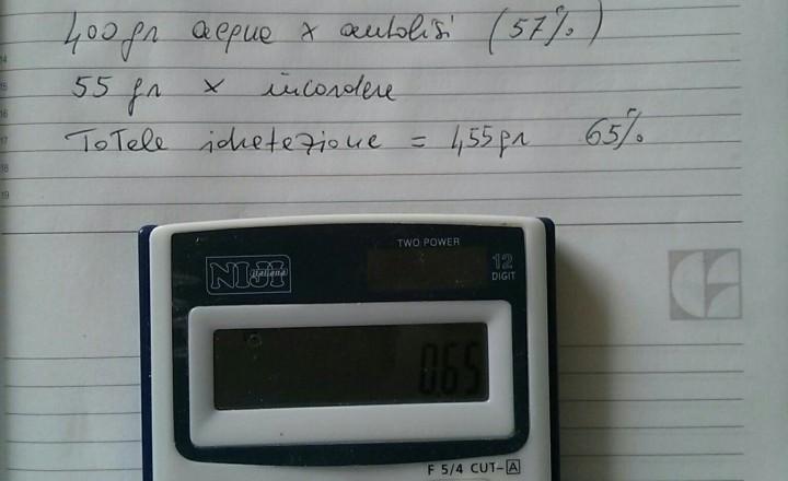 Matematica e panificazione