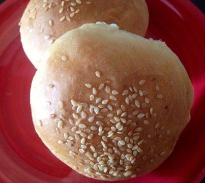panini al latte per hamburger