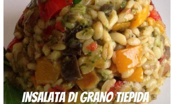 insalata tiepida di grano