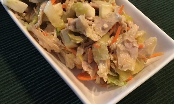 insalata di pollo senza maionese