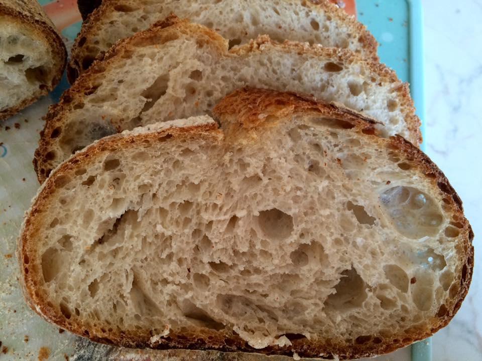 Pane con farina di tipo 1 e tecnica frigo-forno