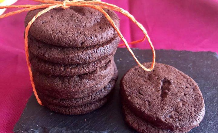 Cookies cioccolato fondente e fior di sale
