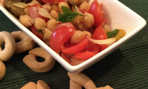 Tecniche di cottura dei ceci e una fresca insalata