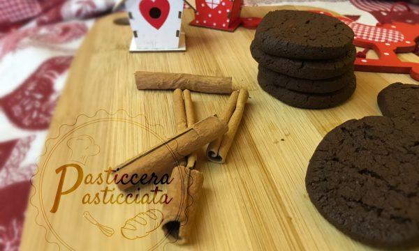 Biscotti di Natale cioccolato cannella e zenzero
